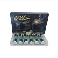Glutax CRP 10000 EGF Cytokines Complexion Injections