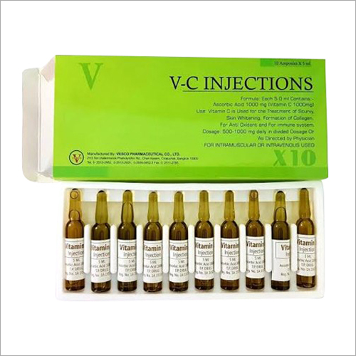 V-C Vitamin C 1000Mg Injections
