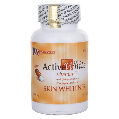 Active White Vitamin C 1000 mg Skin Whitening Capsules