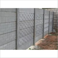 Industrial Cement Compound Wall