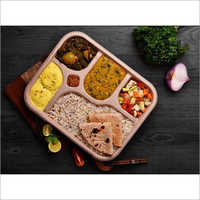Areca 4 Compartment Plate