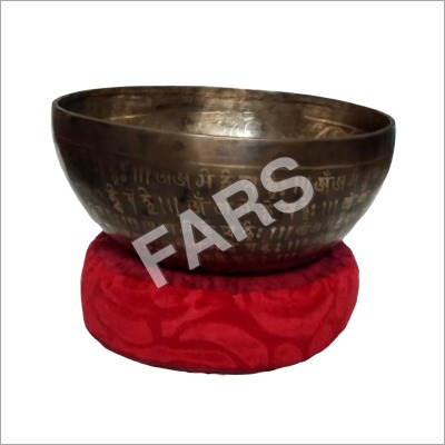 Antique Black Singing Bowl