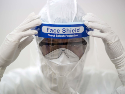 Face Shield (CLINICAL ISOLATION FACE SHIELD)