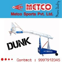 Basketball Pole Movable and Height Adjustable
