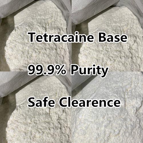 99% Pure Pontocaina Anti Pain Tetra Tetracaine HCl