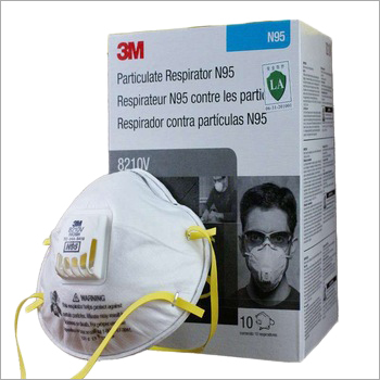 N95 8210V Pollution Anti Fog Face Air Valve Smart Dust Mask