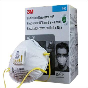 N95 8210V Pollution Anti Fog Face Air Valve Smart Dust Mask
