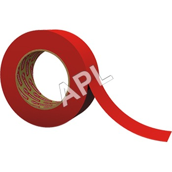 Pet Red D-S Polyester Tape