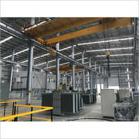 PEB Industrial & Factory Steel tin Shed