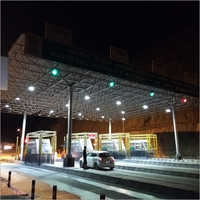 Toll Plaza Canopy Pipe