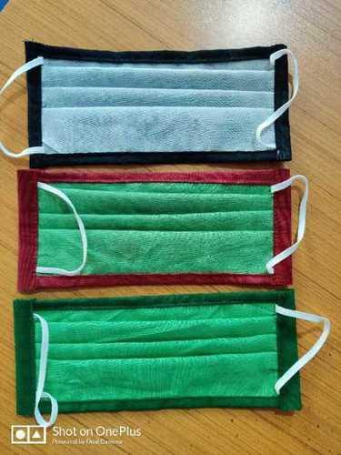 Double layer cotton washable reusable masks