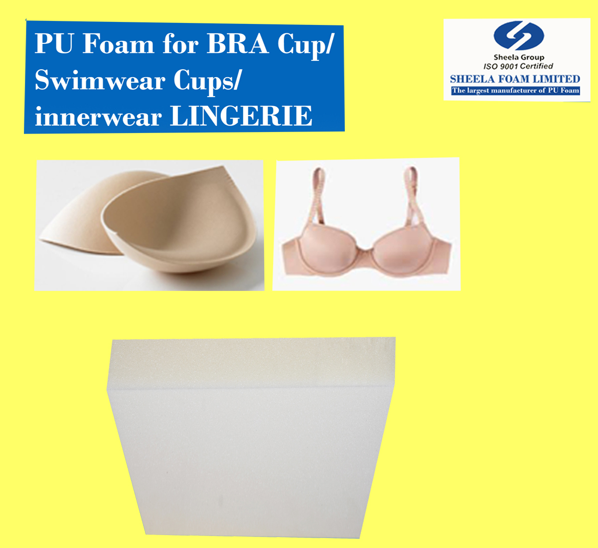 Lingerie Bra Cup Foam