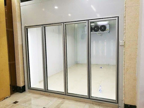 Glass Wall Display Cold Room