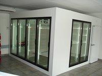 Glass Wall Display Cold Room