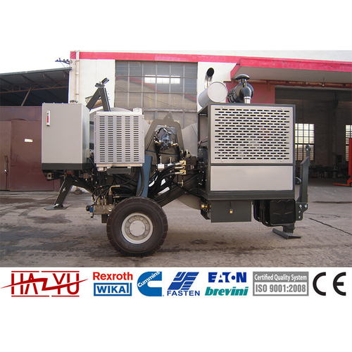 TY1x40 Hydraulic Tensioner Machine For Overhead Stringing Cummins Engine