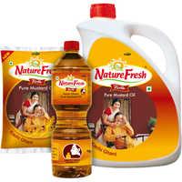 Nature Fresh Kachi Ghani Mustard Oil