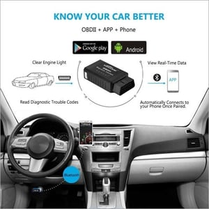 KW910 Universal OBD2 Bluetooth ELM327 V 1.5 Scanner For Android Auto OBDII Scan Tool