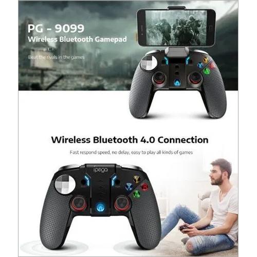PG-9099 Wireless Bluetooth Gamepad Gaming Controller Joystick Dual Motor Turbo