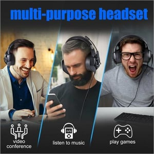 K6 Gaming Headset Casque PC Gamer Bass Stereo Headphones With Microphone