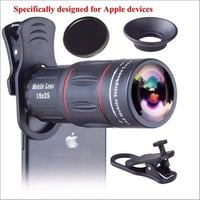 Universal 18x25 Monocular Zoom HD Optical Cell Phone Lens