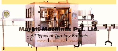 Fully Auto Sanitizer Filling Machine