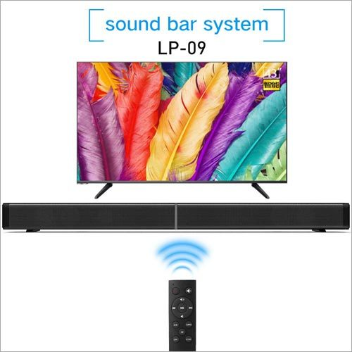 LP09 Bluetooth Speaker Soundbar Wireless Home Theater Loudspeaker