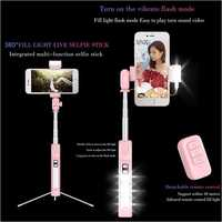 Selfie Stick Phone Tripod Extendable Monopod With Bluetooth A18