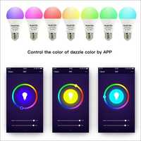 A1 E26 7W 2.4GHz WiFi Smart Bulb 6500K Adjustable Multicolor Dimmable Lamp
