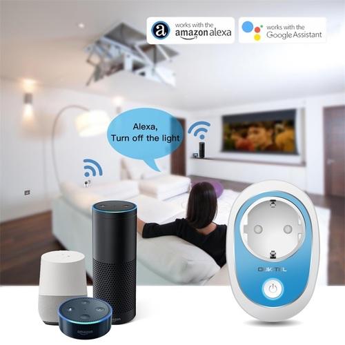 P2 WiFi Plug EU Type E Smart Socket Smart Remote Control Timer