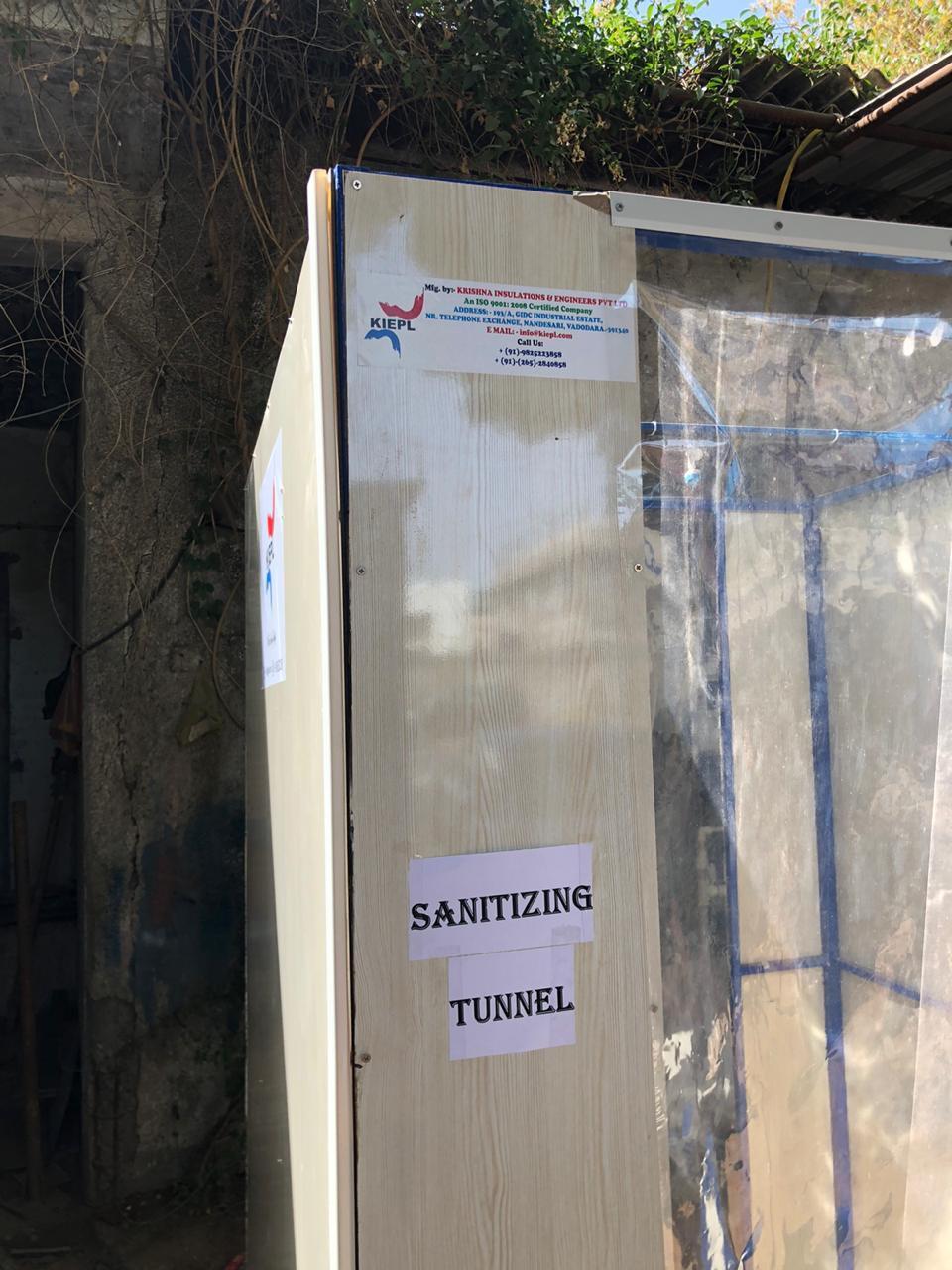 Sanitizing Tunnel