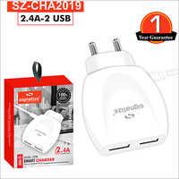 SZ CHA2019 2.4A 2 USB