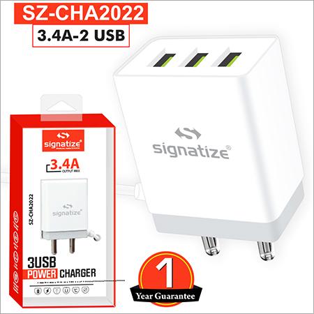 SZ CHA2022 3.4A 2 USB