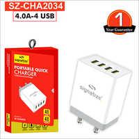 SZ CHA2034 4.0A 4 USB
