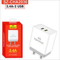 SZ CHA2036 3.4A 2 USB