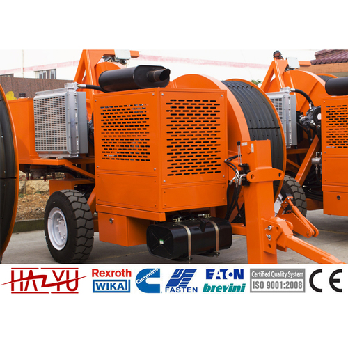 TY1x60III Hydraulic Tensioner Machine For Overhead Stringing Cummins Engine