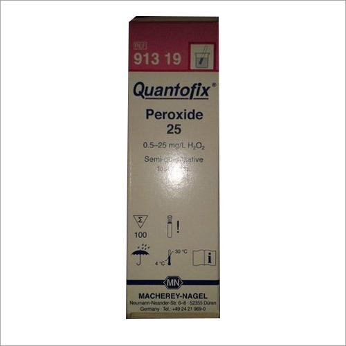 Peroxide Strips
