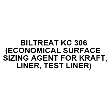 BILTREAT KC 306 (Economical Surface Sizing Agent for kraft, liner, test liner)