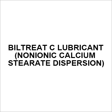 BILTREAT C Lubricant (Nonionic Calcium Stearate Dispersion)