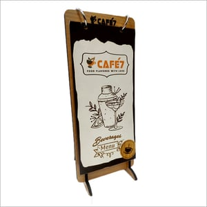 Printed Wooden Tent Card