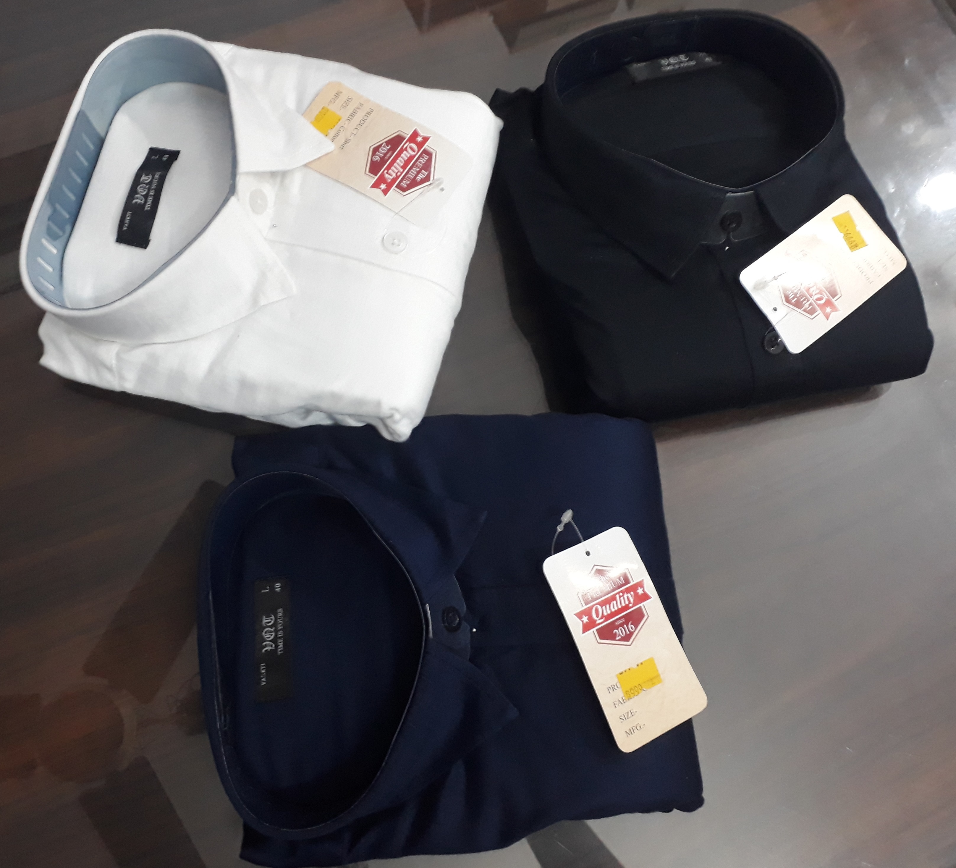 Plain Cotton Shirts