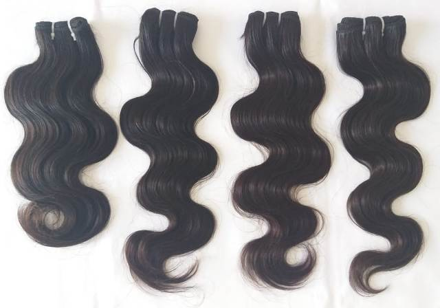 Deep  Wave Hair with closure