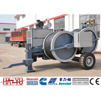 TY1x80 Max Intermittent Pull 100kN Hydraulic Tensioner Machine For Overhead Line