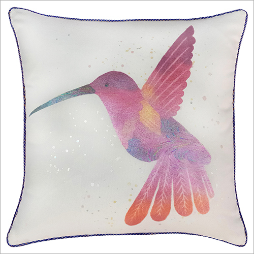 Bird Printed Cushion