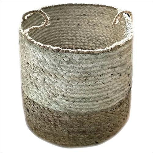 Plastic Wicker Storage Basket
