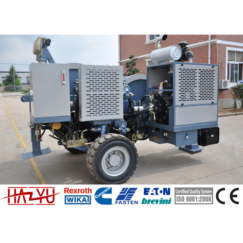 TY1X80III Max Continuous Pull 1x80kN Hydraulic Tensioner Power Transmission Line Machine