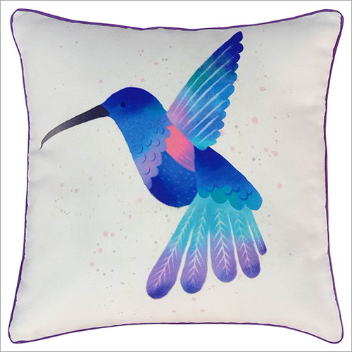 Bird Bird Printed Cushion
