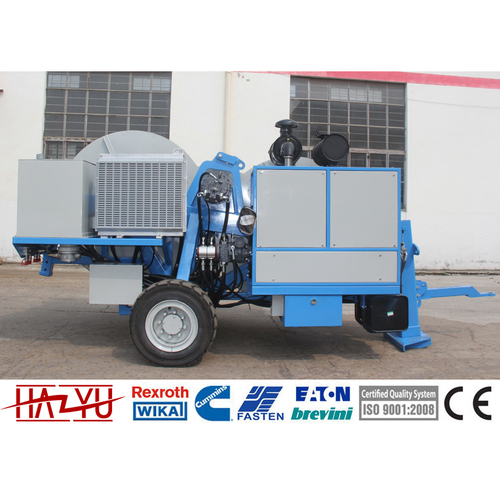 TY2x40 Max Continuous Pull 2x40kN Hydraulic Tensioner For Overhead Stringing Machine