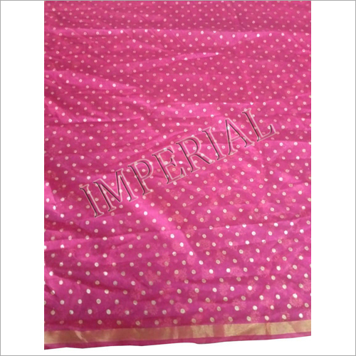 GOLDEN BANDHEJ PRINTED SAFA