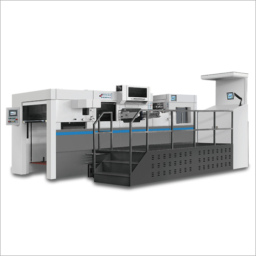 Fully Automatic Hot Foil Stamping And Die Cutting With Stripping