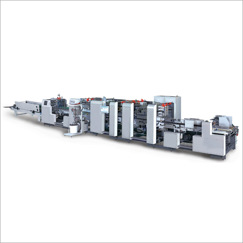 High Speed Fully Auto Folder Gluer For Corrugation Indu.
